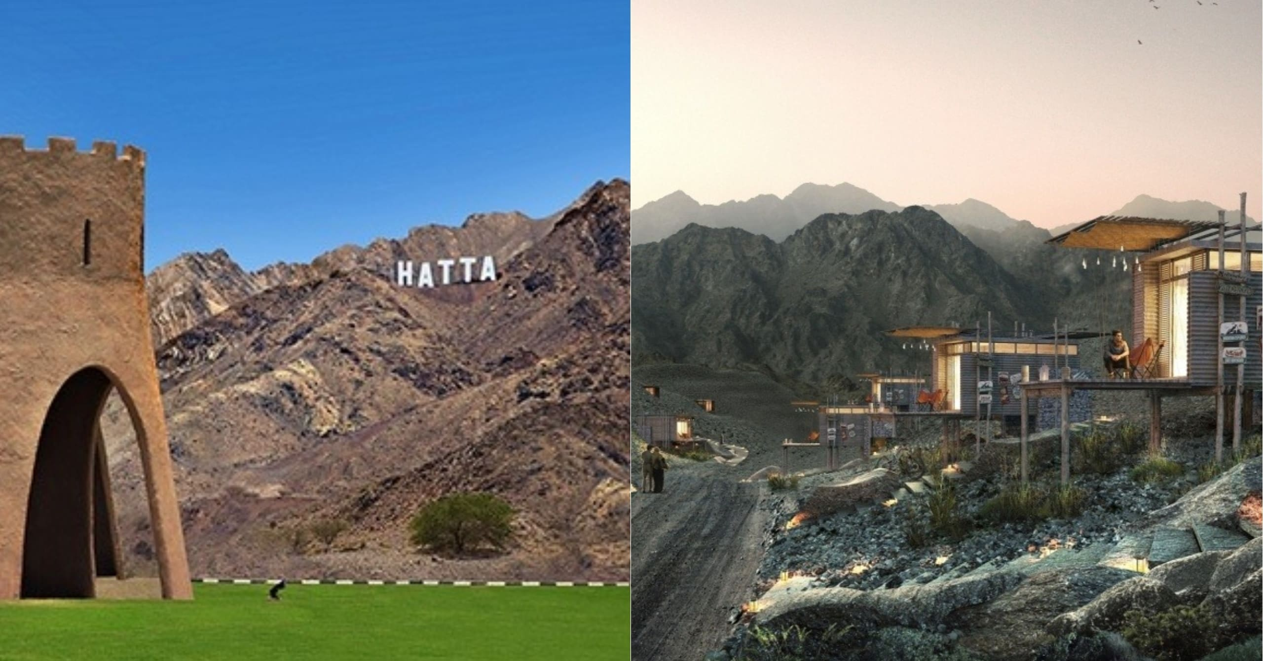 Hatta Dubai Is Getting A Hollywood Style Sign And Mountain